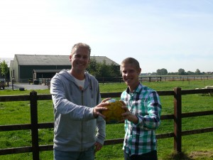 Foto HandbalVandaag John van Woesik en Johan Koorn